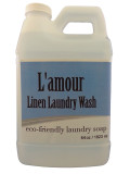 L'Amour Linen Wash Natural Laundry Detergent (Lamour_LinenWash_64oz)