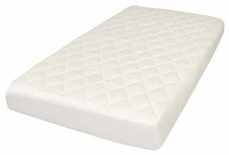 Baby Natura Certified Luxury Organic Cotton Filled Crib Matt Pad