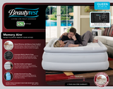 Boyd BeautyRest Queen Memory Aire Express Bed|boyd specialty sleep, beauty rest, air bed, queen, pillowtop, memory foam