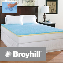 Broyhill Sensura Gel Enhanced 2 inch Memory Foam Mattress Topper|Broyhill, Broyhill Mattress, Mattress Topper, Gel memory foam topper, Memory Foam topper