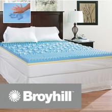 Broyhill Sensura Gel Enhanced 3 inch Memory Foam Mattress Topper|Broyhill, Broyhill Mattress, Mattress Topper, Gel memory foam topper, Memory Foam topper