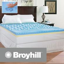 Broyhill Sensura Gel Enhanced 4 inch Memory Foam Mattress Topper|Broyhill, Broyhill Mattress, Mattress Topper, Gel memory foam topper, Memory Foam topper