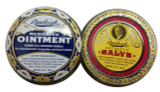 Rawleigh 2 pack of Natural Medicated Ointment and Antiseptic Salve (1 5oz Tin of Each) (CAD_Rawleigh_2pack_100902+100896)