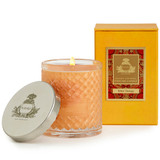 Agraria San Francisco Bitter Orange Woven Crystal Candle|agraria san francisco, agraria, candles, bitter orange, crystal candle, perfume candles, crystal glass