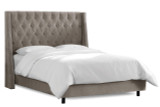 Bellevue Bed by Skyline Furniture|bellevue, beds, skyline furniture, full queen, king, cal king