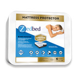 ZedBed Protect Plus 6 Sided Total Encasement Mattress Protector|zedbed, mattress protectors, protect plus, 6 sided