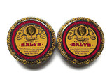 2-pack Antiseptic Rawleigh Natural Skin Balm and Salve, 5 Oz. Tins (Set of 2)| rawleigh products, skin balm and salve, antiseptic, 2 pack, natural, 5 oz, natural ointment