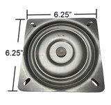 6.25 Inches Replacement Bar Stool Swivel Plate - Made in the USA - S4695|leggett and platt swivel plate, bar stool replacement parts, S4695
