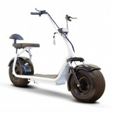 EW-08 Fat Tire Electric Scooter by EWheels|ewheels, ew-08, black, white, electric scooter, mobility scooters, scooter bike, electric scooter for adults, scooters for sale, motor scooter, scooter electric, new scooters