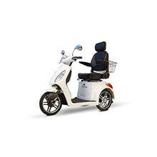 EW-36 3 Wheel High-Power Mobility White Scooter by Ewheels|ewheels, ew-36, electric scooter, mobility scooters, scooter bike, electric scooter for adults, 3 wheel scooter, scooters for sale, motor scooter, scooter electric, new scooters