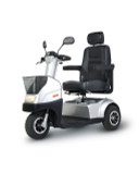 Afiscooter Breeze C3 Three Wheel Scooter - Silver