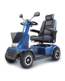 Afiscooter Breeze C4 Four Wheel Scooter - Blue