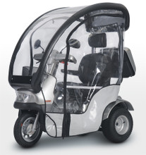 Afiscooter S/M Rain Sides Double Seat