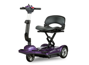 EV Rider TranSport M Easy Move Scooter - Plum