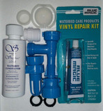 Blue Magic Waterbed Fill & Drain Patch Cap & Plug 4 OZ Conditioner Kit