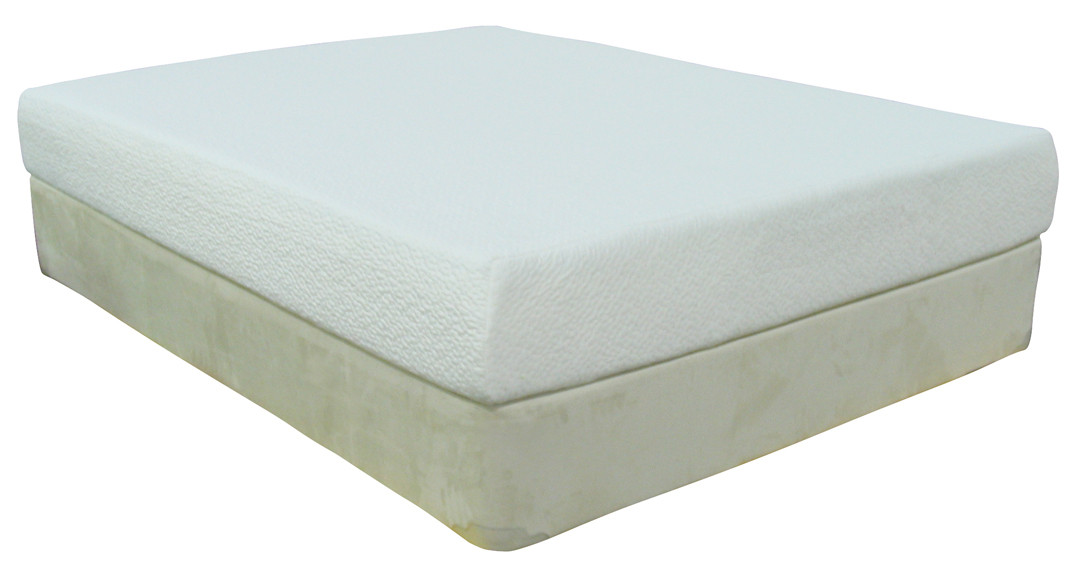 Tempur Memory Foam Mattress >> Eco Pedic Classic 9 Inch Memory Foam Mattress