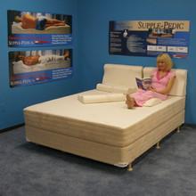Strobel Organic Supple Pedic Lever Bed 300 Mattress Only