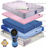 Adjust Air night Air Series 240 Adjustable Airbed | Air Chamber Air Mattress