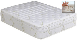 Cashmere Mid Fill 12 inch softside waterbed mattress