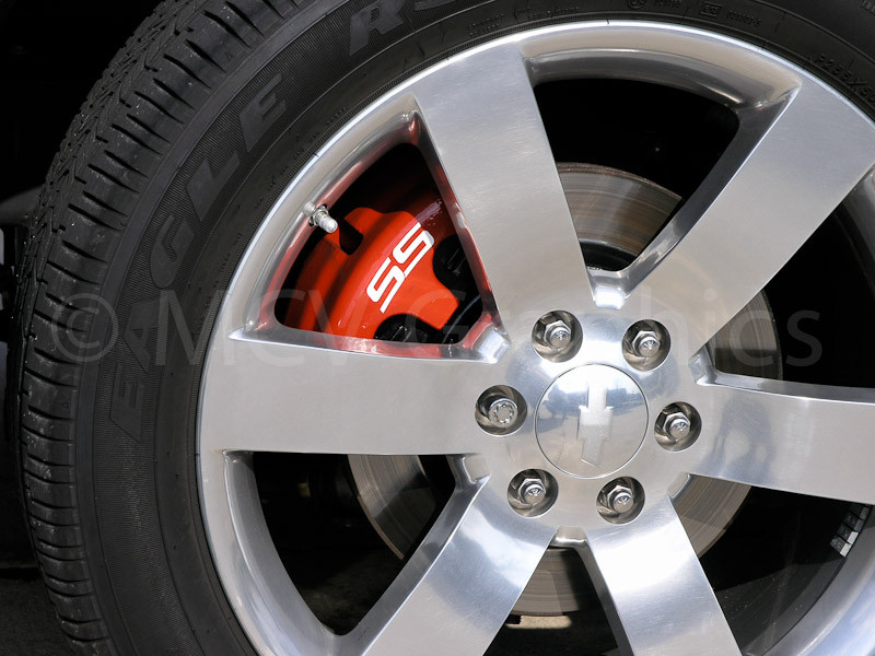 05-09 Trailblazer SS Front Brake Caliper Decal - Motor ...