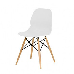 CLIFTON SIDE CHAIR - WHITE