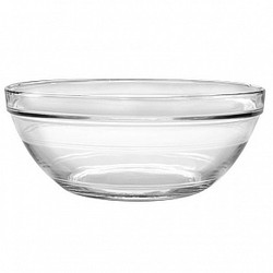 DURALEX LYS STACKABLE CLEAR BOWL - 6 3/4""