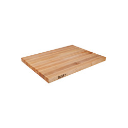 JOHN BOOS MAPLE R-BOARD - REVERSIBLE - EDGE GRAIN 18 X 12 X 1.5