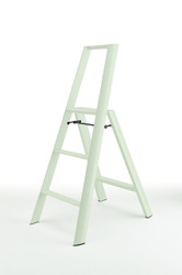 LUCANO 3-STEP STOOL - WHITE