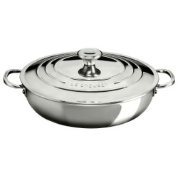 LE CREUSET TRI-PLY STAINLESS BRAISER 4.8L