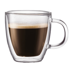 BODUM BISTRO DOUBLE WALL MUG - SET OF 2