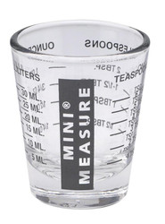 KITCHENBASICS MINI-MEASURE SHOT GLASSES