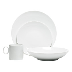 LOFT WHITE 16PC SET - ROUND