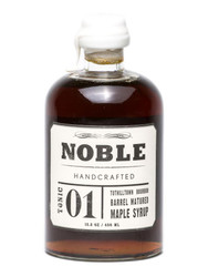 NOBLE TONIC 01: BOURBON BARREL MAPLE SYRUP