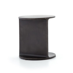 GRIFFON SIDE TABLE - RUSTIC  FOSSIL