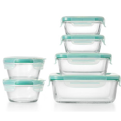 OXO SNAP GLASS CONTAINER SET 12 PC