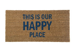 DOOR MAT - THIS IS OUR HAPPY PLACE