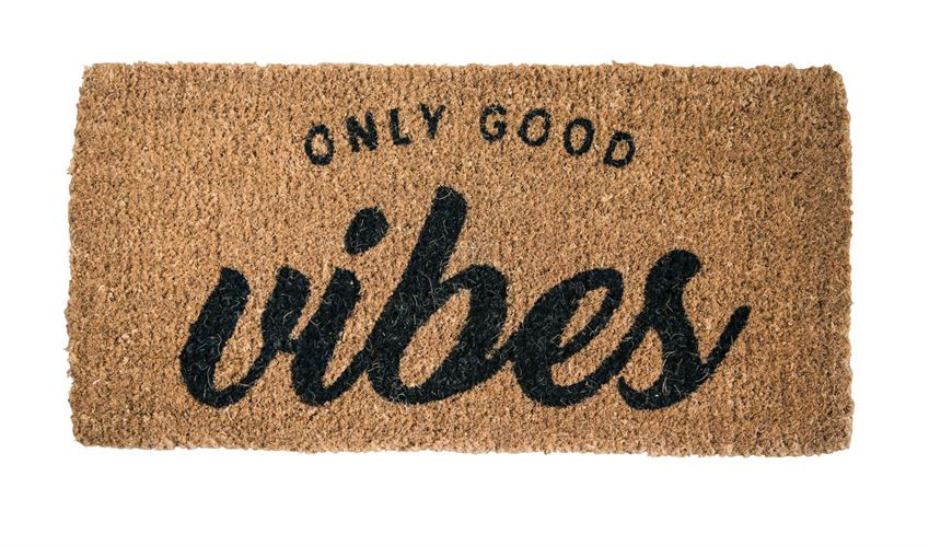 c54c3a4f1 DOORMAT - ONLY GOOD VIBES