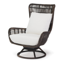 SORRENTO OUTDOOR SWIVEL LOUNGE CHAIR