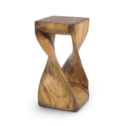 FAUX WOOD Z STOOL/TABLE