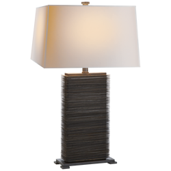 CONVECTOR RECTANGULAR TABLE LAMP