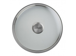 LE CREUSET TOUGHENED NONSTICK GLASS LIDS