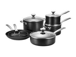LE CREUSET TOUGHENED NONSTICK 10 PIECE SET