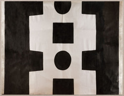 PAULE MARROT BLACK AND WHITE ABSTRACT