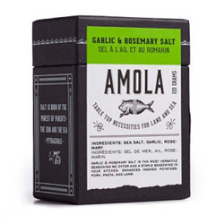 AMOLA GARLIC & ROSEMARY SALT 100G