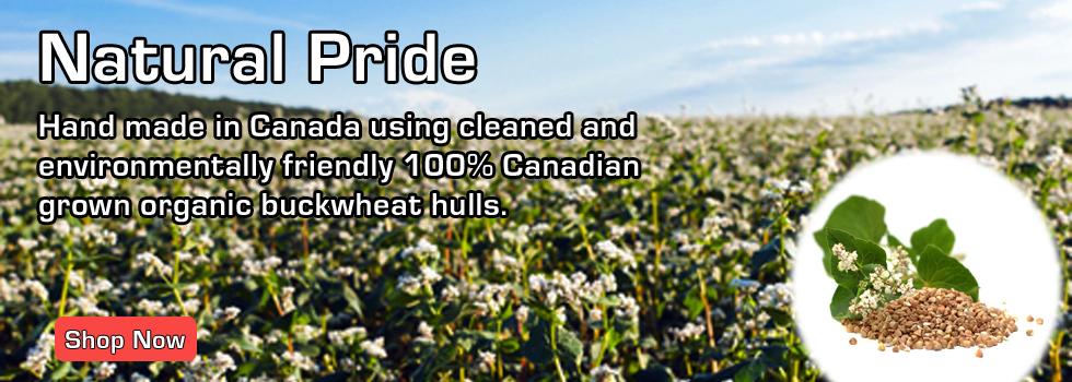Canadian Organic Buckwheat Hulls