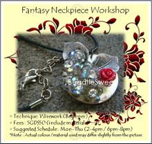 Jewelry Making Course: Fantasy Neckpiece Workshop