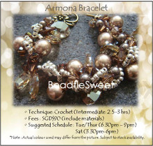 Jewelry Making Course : Armona Bracelet Workshop