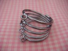 5 Loop Spiral Ring Finding (Black)