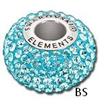 Swarovski BeCharmed Bead 80101 Aquamarine