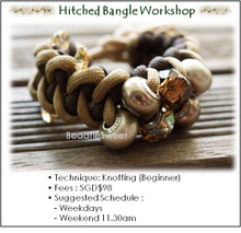 Jewelry Making: Hitched Bangle Workshop